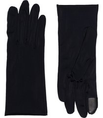agnelle hygie slip-on gloves - black