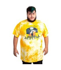 camiseta naruto lavanderia incolor
