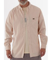 lois jeans thomas needle cord shirt - rose 1087-5771