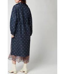 baum und pferdgarten women's delianah coat - navy blazer - eu 40/uk 12