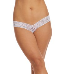 hanky panky bride crystal open gusset thong in white at nordstrom