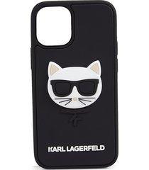 karl lagerfeld rubber iphone 12 mini case