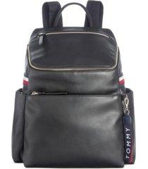 tommy hilfiger annada smooth backpack