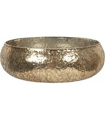 misa patera metalowa szczotkowane złoto