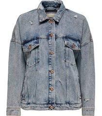 jeansjacka onlsafe life ls oversize jacket