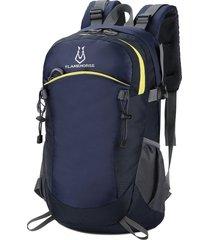 deep blue flamehorse ultraligero mochila de viaje impermeable al aire libre mountaineer bag 40l