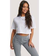 fila oversize t-shirt - white