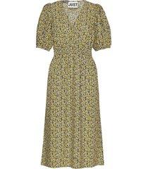 dove dress knälång klänning gul just female