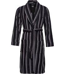 jbs bathrobe ochtendjas badjas zwart jbs