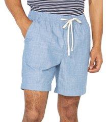 "nautica men's big & tall chambray boardwalk 7"" shorts"