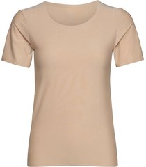 jbs of dk t-shirt rec polyeste t-shirts & tops short-sleeved beige jbs of denmark