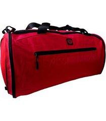 maleta expandible swissbrand vernier-rojo