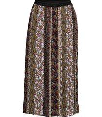 skirt long woven fab knälång kjol multi/mönstrad gerry weber