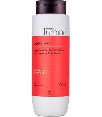 condicionador polinutrição cabelos secos lumina - 300ml
