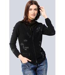 vest alba moda zwart