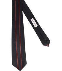 alexander mcqueen tie with logo band