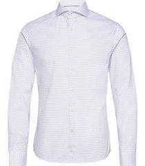 super slim fit business twill shirt overhemd business paars eton