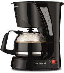 cafeteira pratic mondial preta 17 xicaras de café  110v - kanui