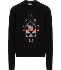 marcelo burlon galaxy cross sweater