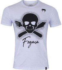 camiseta venum fogaça - masculina - branco