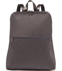 tumi voyageur - just in case nylon travel backpack - grey