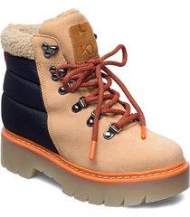 ferde shoes sport shoes outdoor/hiking shoes beige kari traa