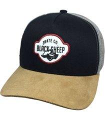 boné black sheep logo preto