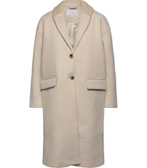 vicallee wool coat/su/des wollen jas lange jas grijs vila
