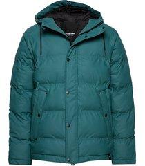 baffle jacket gevoerd jack groen tretorn