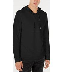 inc men's textured lightweight hoodie, created for macy's