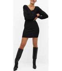 mango women's fitted jersey dress