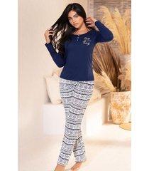 pijama mujer conjunto pantalón 11374