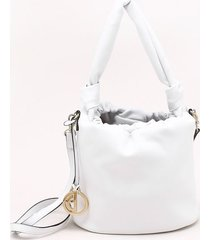 bolsa bucket bianco - p