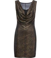 abito metallizzato (nero) - bodyflirt