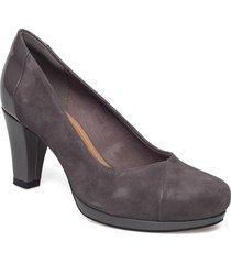 chorus carol shoes pumps classic svart clarks