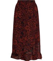 florizzaiw skirt knälång kjol brun inwear