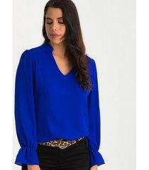 blusas azul rey derek 820957