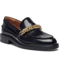 shoes a1490 loafers låga skor svart billi bi