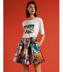 spódnica flower skirt