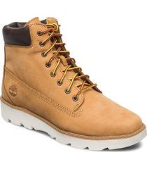 keeley field 6in shoes boots ankle boots ankle boot - flat beige timberland