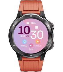 smartwatch reloj inteligente marca cubitt color naranja modelo ct3