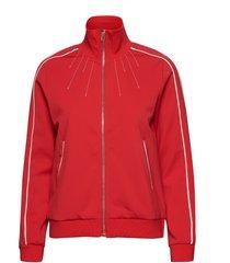 bomber sweat-shirt trui rood sofie schnoor