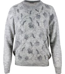 brunello cucinelli sweater with embroidery and sequins