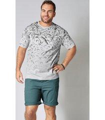 t-shirt men plus ljusgrå