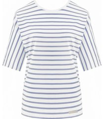 bluzka nina denim stripes