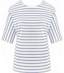 bluzka nina denim stripes