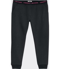 jogger weistbrand negro tommy jeans