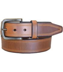 lejon men's crusader oil tanned harness leather casual work jean belt