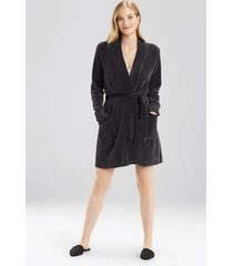 twilight robe with pockets, women's, grey, size xl, josie