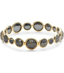 ippolita women's 18k yellow gold & multi-stone bangle bracelet